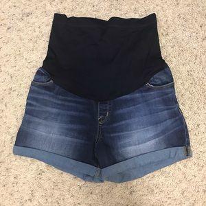 Small 4-6 Maternity Jean shorts